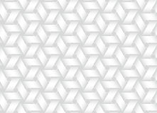 Vector seamless pattern of weaved bands. White texture. Royalty Free Stock Image