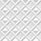 Vector seamless pattern - white and black geometri Royalty Free Stock Images