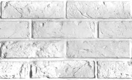 Vector seamless pattern of white brick wall. Stock Photo