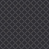 Vector seamless pattern with white dotted lines Stock Photo