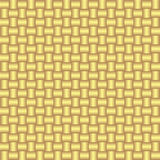 Vector seamless pattern wiht gold weaving. Royalty Free Stock Photo
