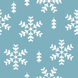 Vector seamless pattern winter Stock Image