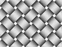 Vector seamless pattern of woven bars. Stipple texture. Vector seamless decorative pattern of woven bars. Stipple texture Royalty Free Stock Photo