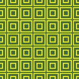 Vector seamless pattern with yellow squares. Royalty Free Stock Photo