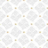 Vector seamless pattern zigzag in doodle style. Hand drawing. Stock Photography