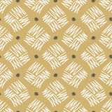 Vector seamless pattern zigzag in doodle style. Hand drawing. Royalty Free Stock Image