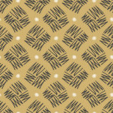Vector seamless pattern zigzag in doodle style. Hand drawing. Stock Photos