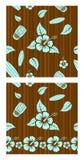 Vector seamless patterns Stock Photos