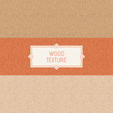 Vector seamless patterns and abstract backgrounds. Wooden textures Royalty Free Stock Images