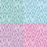 Vector seamless patterns with curvy elements Royalty Free Stock Image