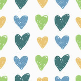 Vector seamless patterns. Cute and colorful background. Stock Photography