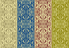 Vector Seamless Patterns Royalty Free Stock Photo