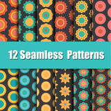 Vector of Seamless patterns Stock Photography