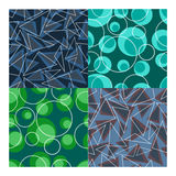 Vector seamless patterns set Stock Photo
