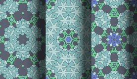 Vector of Seamless Patterns set. Eps 10 Royalty Free Stock Photos