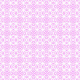 Vector seamless pink elegant lines background Royalty Free Stock Photography