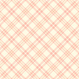 Vector seamless pink plaid pattern. endless texture abstract geometric ornament background. Royalty Free Stock Images