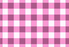 Vector seamless pink tartan,tartan pattern Royalty Free Stock Image