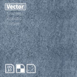 Vector seamless realistic denim texture. Stock Image