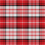 Vector seamless red pattern Scottish tartan Royalty Free Stock Image