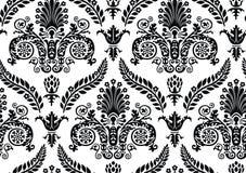 Vector. Seamless Renaissance Wallpaper. Seamless Renaissance Wallpaper Isolated On White Stock Photo