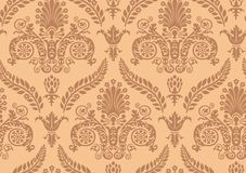 Vector. Seamless Renaissance Wallpaper Royalty Free Stock Images