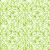 Vector seamless repeating pineapple pattern on Stock Images