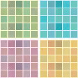 Vector seamless retro bathroom tiles. Background Royalty Free Stock Photography
