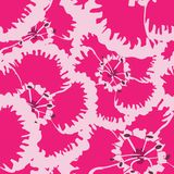 Vector seamless retro pattern, carnation flowers. Can be used for web page background, fills drawings, wallpapers. Vector seamless retro pattern, Flowers on Stock Images