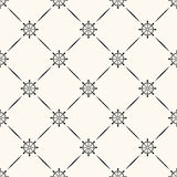 Vector seamless retro pattern Stock Image