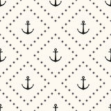 Vector seamless retro pattern Stock Photos
