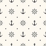 Vector seamless retro pattern Stock Photography