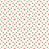 Vector seamless retro pattern Royalty Free Stock Images