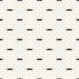 Vector seamless retro pattern Royalty Free Stock Photo