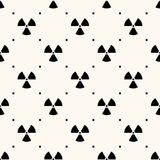 Vector seamless retro pattern Royalty Free Stock Image