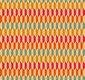 Vector seamless retro pattern. With texture of paper Stock Images