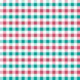 Vector seamless retro squared fabric Stock Image