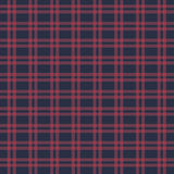 Vector seamless retro squared fabric Stock Images
