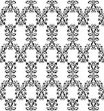 Vector seamless rich background in Renaissance style. Floral pat Stock Photos