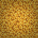 Beige seamless mosaic background Royalty Free Stock Images
