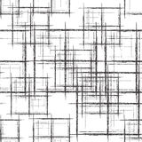 Vector seamless scratch pattern Stock Photography