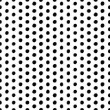 Vector seamless scribble dotted pattern Stock Images