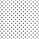 Vector seamless scribble dotted pattern Stock Photo