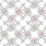 Vector seamless seamless colorful pattern Stock Photography