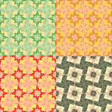 Vector Seamless set geometric pattern Royalty Free Stock Photography