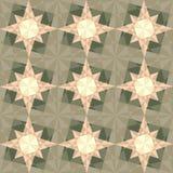 Vector seamless set geometric pattern Stock Photo