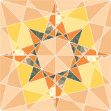 Vector seamless set geometric pattern Royalty Free Stock Photography