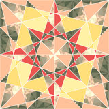 Vector seamless set geometric pattern Stock Photography
