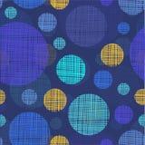 Vector seamless shading circles background. Eps10 Stock Photo