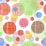 Vector seamless shading circles background. Eps10 Stock Photos